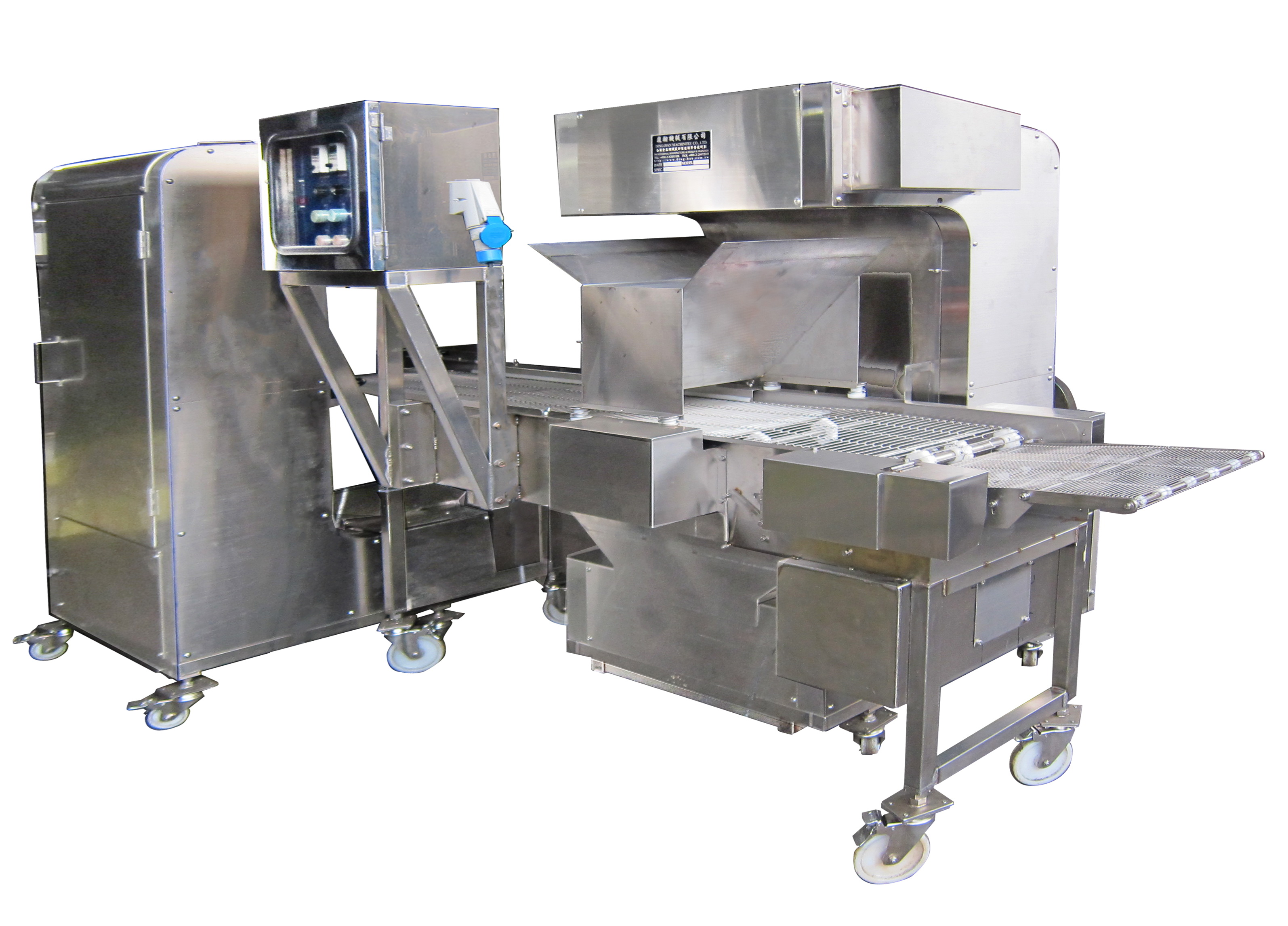 Automatic Crumbs Spraying & Coating Machine