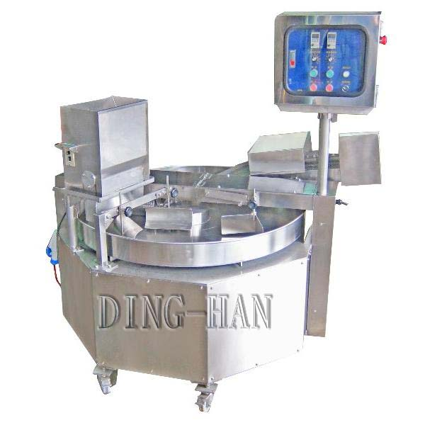 Rotary-Type Powder and Crumb Breading Machine