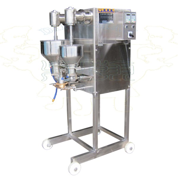 Meatball Filling and Encrusting Machine