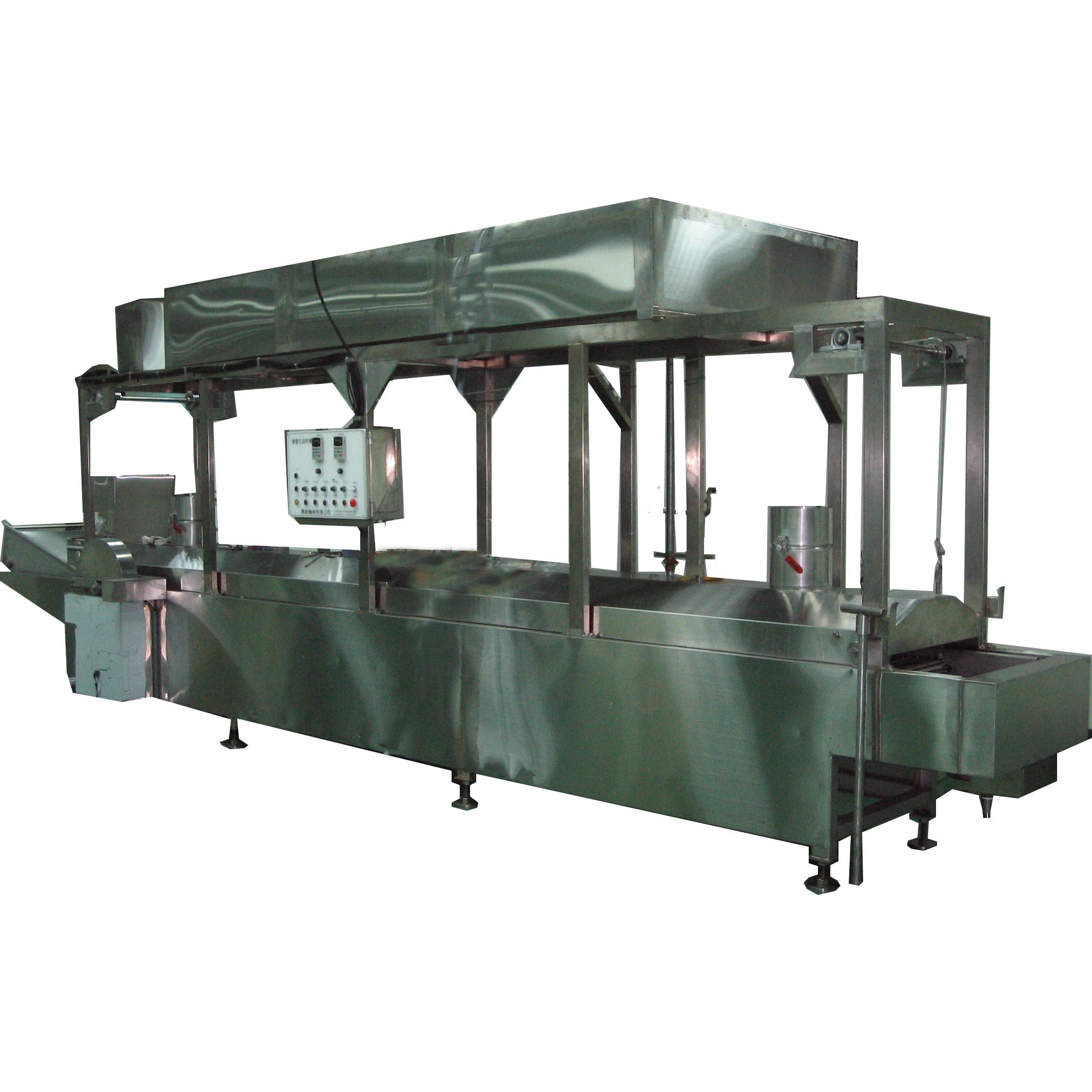 Submerged-Type Frying Machine