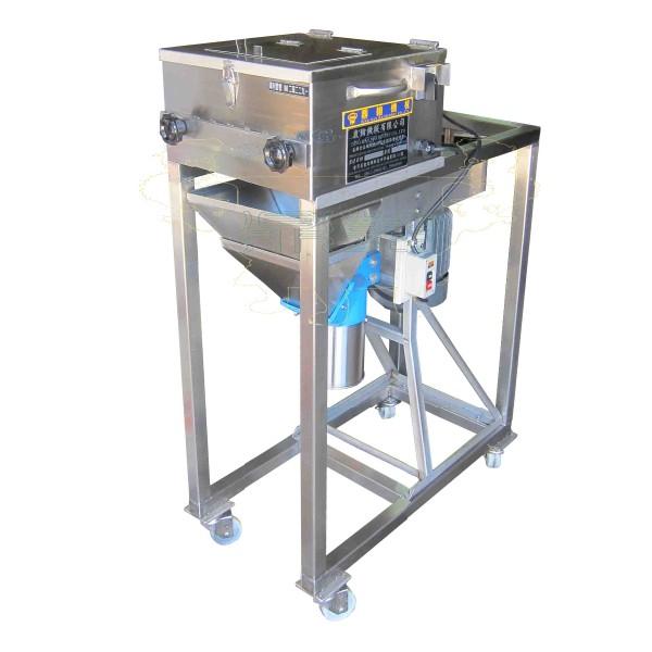 Fleischschuppenmaschine + Brecher
