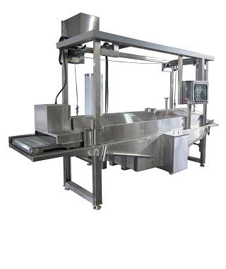 Kontinuierliche Frittiermaschine - Kontinuierliche Frittiermaschine