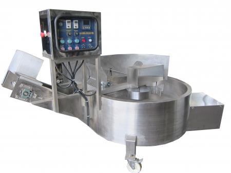 (Simple-type) L-Type Frying Machine - Tempura/Meatball/Fishball Continuous Frying Machine