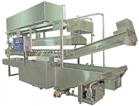 Kontinuierliche Frittiermaschine - Kontinuierliche/Förder-Frittiermaschine