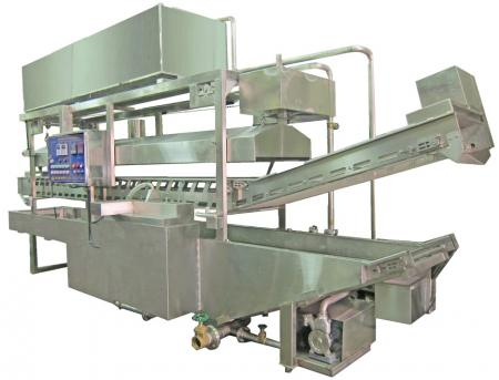 Continuous Frying Machine - Continuous/Conveyor Frying Machine