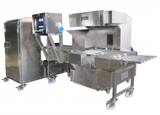 Automatic Crumbs Spraying & Coating Machine
