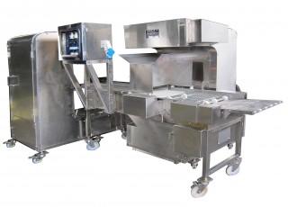 Automatische Krümel-Sprüh- und Beschichtungsmaschine