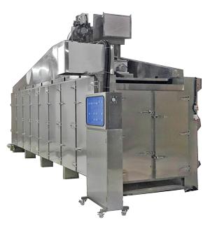 Essiccatore ad aria calda multistrato - Essiccatore ad aria calda continuo