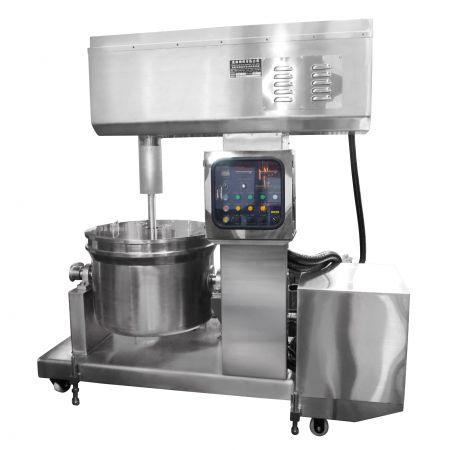 Rührmaschine für große Fischpasten (automatisches Eingießen)