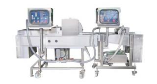 Automatische Teig- und Krümelbeschichtungsmaschine