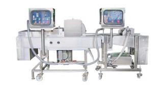 Автоматическая машина для нанесения жидкого теста и крошки - Машина для нанесения покрытия на жидкое тесто и крошку