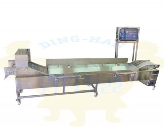 Electric-Heating Frying Machine - Continuous Electric-Heating Fryer