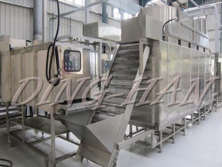 Ding-Han Kundenspezifische Fish-Cracker-Produktionslinie