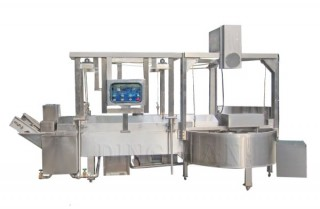 L-Type Frying Machine (with Lifting System) - Tempura/Meatball/Fishball Continuous Frying Machine