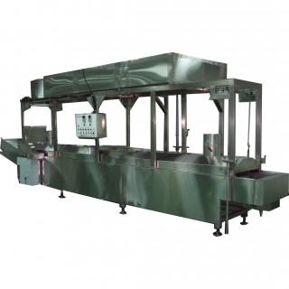 Submerged-pipe Frying Machine - Submerged-Type Frying Machine
