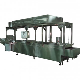 Submerged-pipe Frying Machine