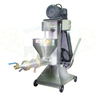 آلة مفرمة اللحم الصناعية مع أنبوب الفلتر - DH802 مفرمة اللحم ومصفاة