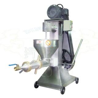 Industrielle Fleischwolfmaschine mit Filterrohr