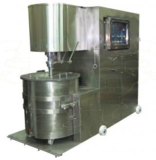 Mescolatrice per pasta di pesce di tipo grande (rimovibile)
