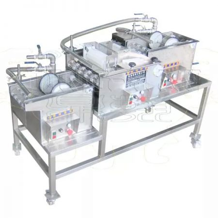 Batter and Crumb Coating Machine
