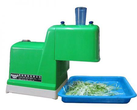 Elektrischer Schneidemesser für grüne Zwiebeln (Tisch) - Green Onion Shredder, gut zum Schneiden von langem und dünnem Material in Fetzen.