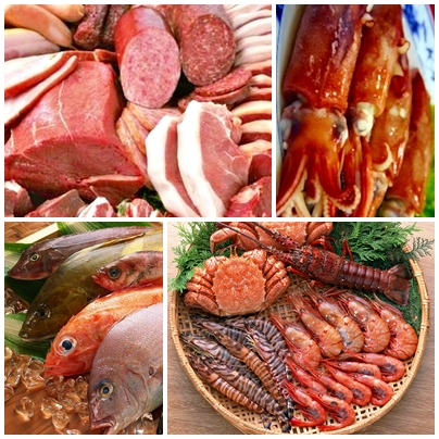 Processing Machines for Seafood & Meat