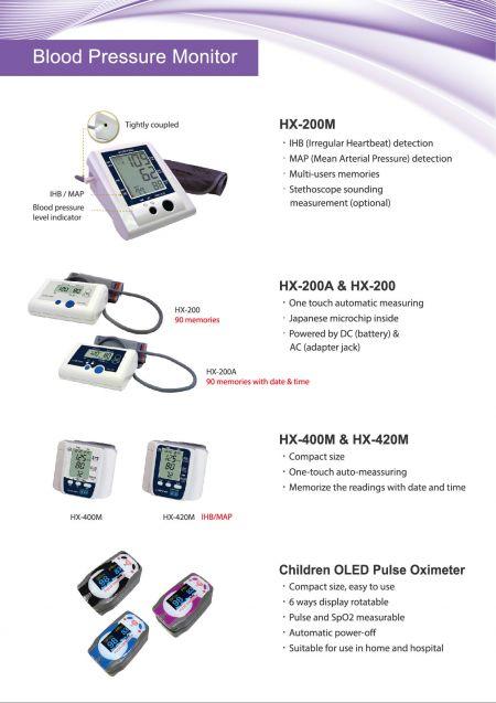 Monitor de pressão arterial Hannox