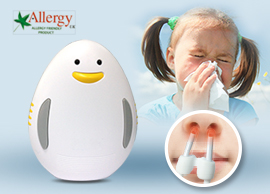 Soulagement des allergies infrarouge