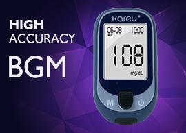 Medidor de glucosa en sangre KareU +