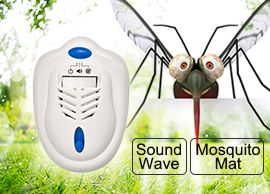 2-in-1 Portable Mosquito Repeller