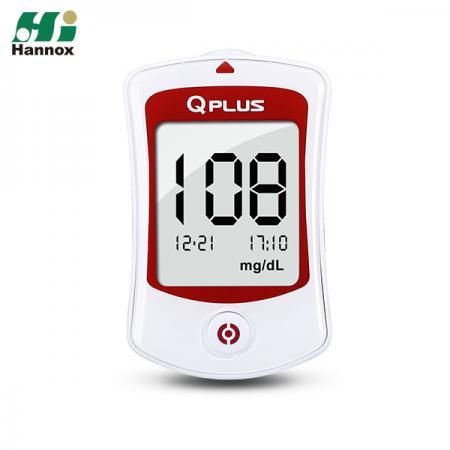 Blood Glucose Meter Kit (Q-PLUS) - Blood Glucose Monitoring System