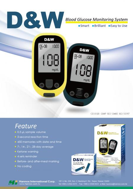 Blood Glucose Monitoring System - D&W