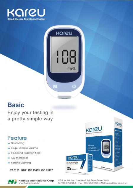 Blood Glucose Monitoring System - KareU