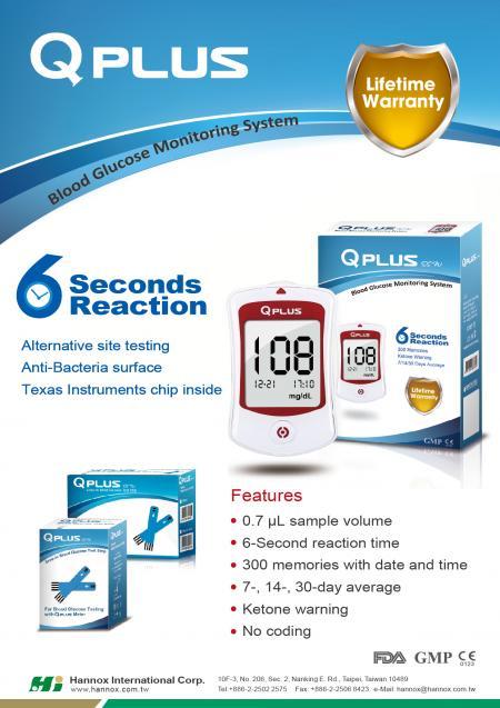 Blood Glucose Monitoring System - QPLUS