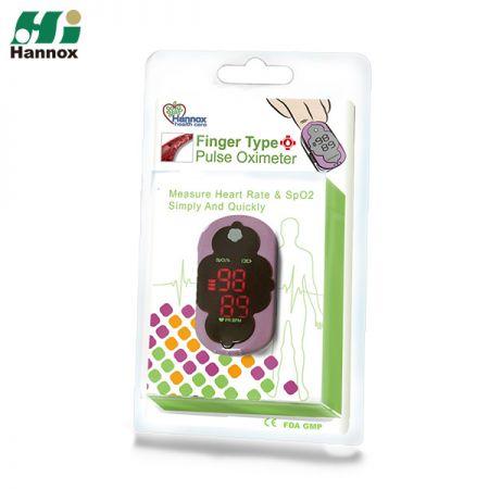 Oxímetro de pulso de dedo LED