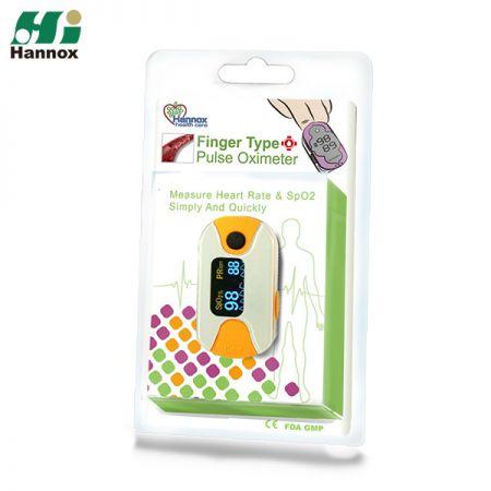 Oxímetro de pulso de dedo OLED