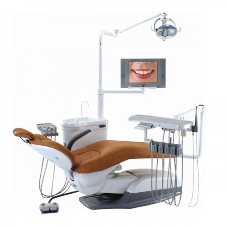 Cadeira odontológica para sistema hidráulico - Unidade odontológica do tipo hidráulico