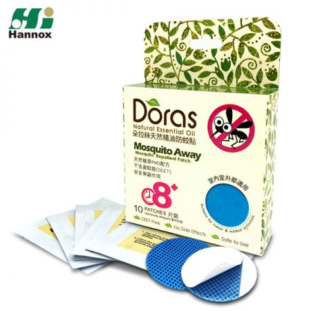 DORAS Mosquito Repellent Patch (PMD) - Mosquito Repellent Patch PMD