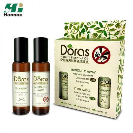 DORAS蚊よけロールオン(エッセンシャルオイル) - 蚊よけ/かゆみ止めロールオン(エッセンシャルオイル)