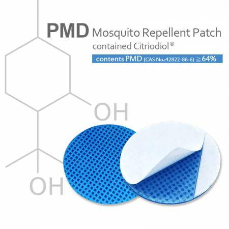 Patch repelente de mosquitos (PMD)