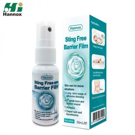 Sting Free Barrier Film - Sting Free Barrier Film (Non-sterile)