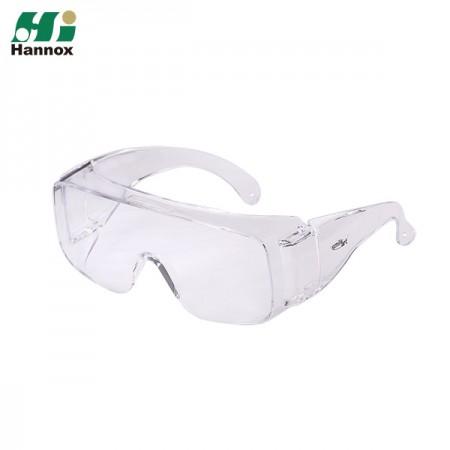 Un-Vented Temple Protective Eyewear - Un-Vented Temple Protection Eyewear