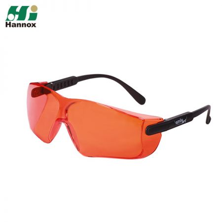 Adjustable Temple Type Protective Eyewear - Adjustable Temple Type Protection Eyewear