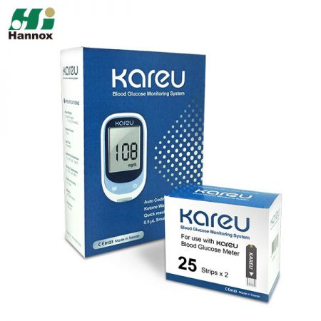 Basic Glucometer Kit (KareU) - KareU Glucometer