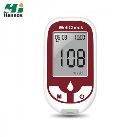 Blood Glucose Monitoring System (WellCheck) - WellCheck Glucometer