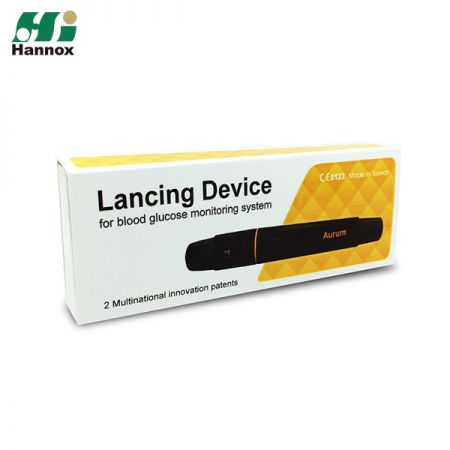Painless Lancing Device