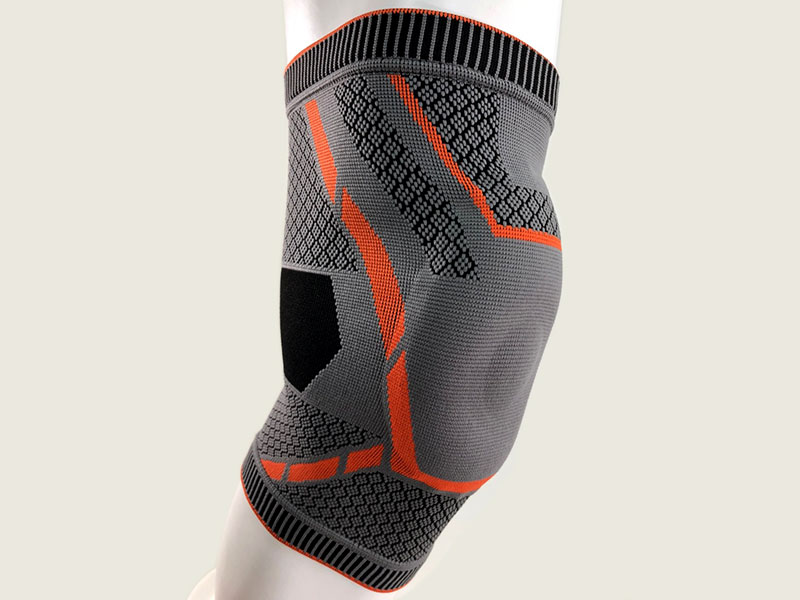Knitting Knee Support.