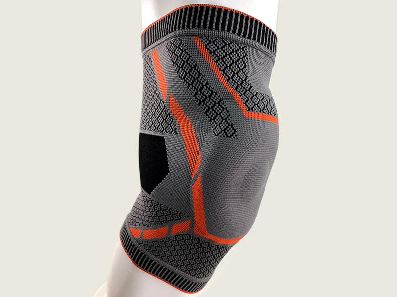 編み膝サポート。