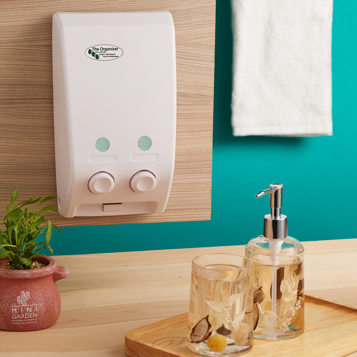 Wall Mounted Bathroom Soap Dispenser