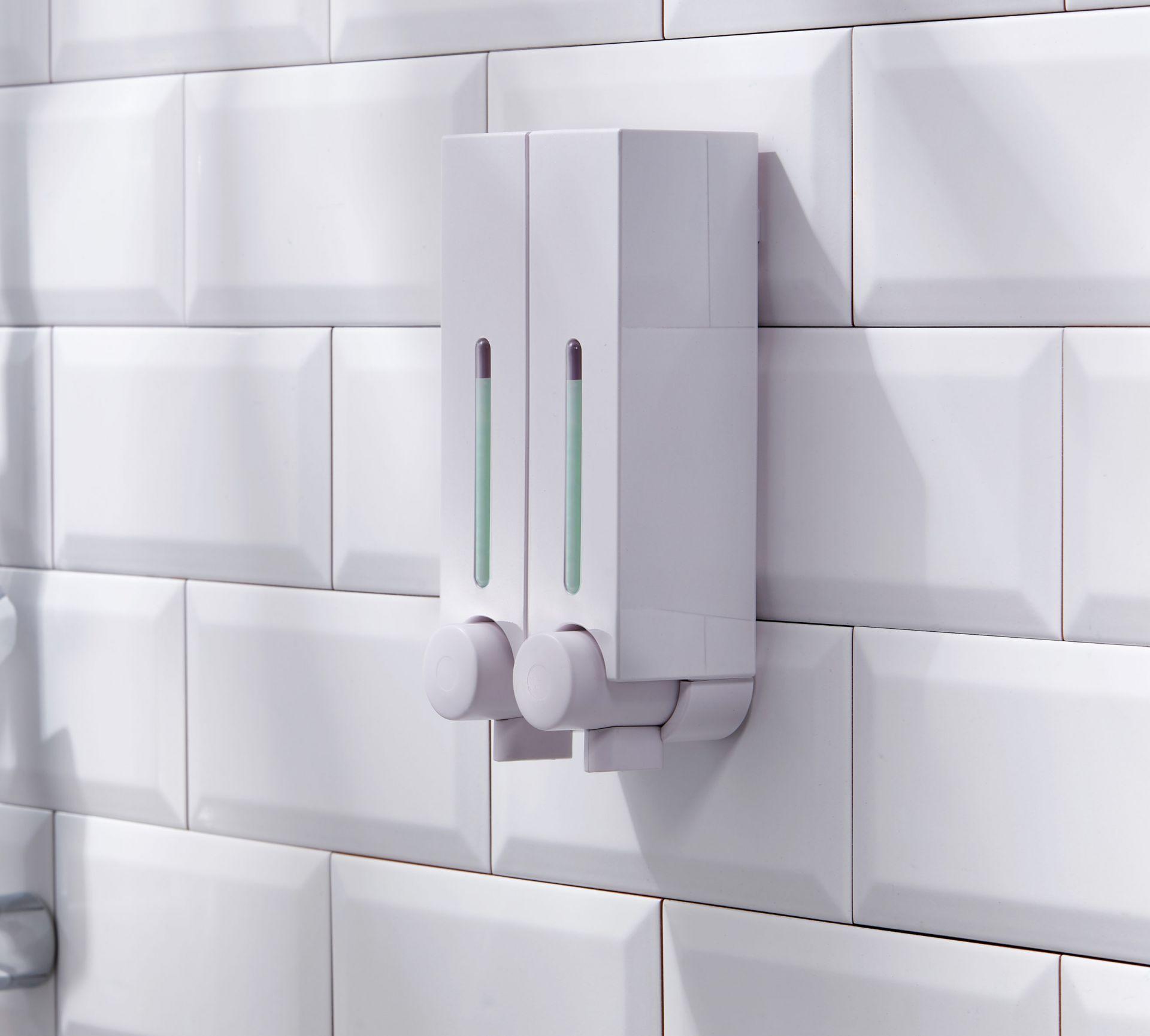 小さな壁掛け式洗濯用品ソープディスペンサー